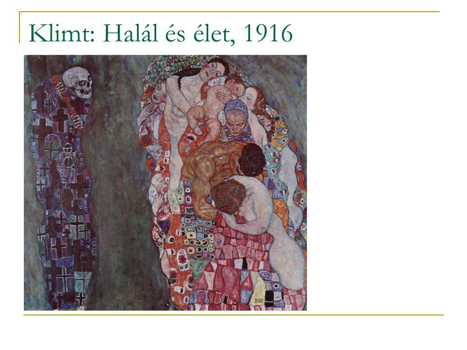Klimt: Halál és élet, 1916