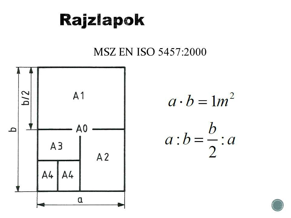 MSZ EN ISO 5457:2000