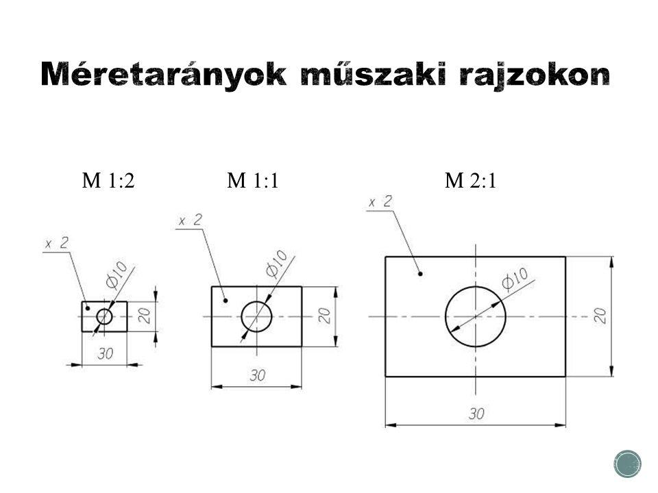 M 1:2 M 2:1 M 1:1