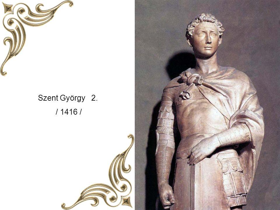 1430 – tól sokat dolgozott Cosimo de' Medici számára. Donatello munkásságát műfaji sokszínűség és újszerűség jellemzi. Korai alkotói periódusát álló a