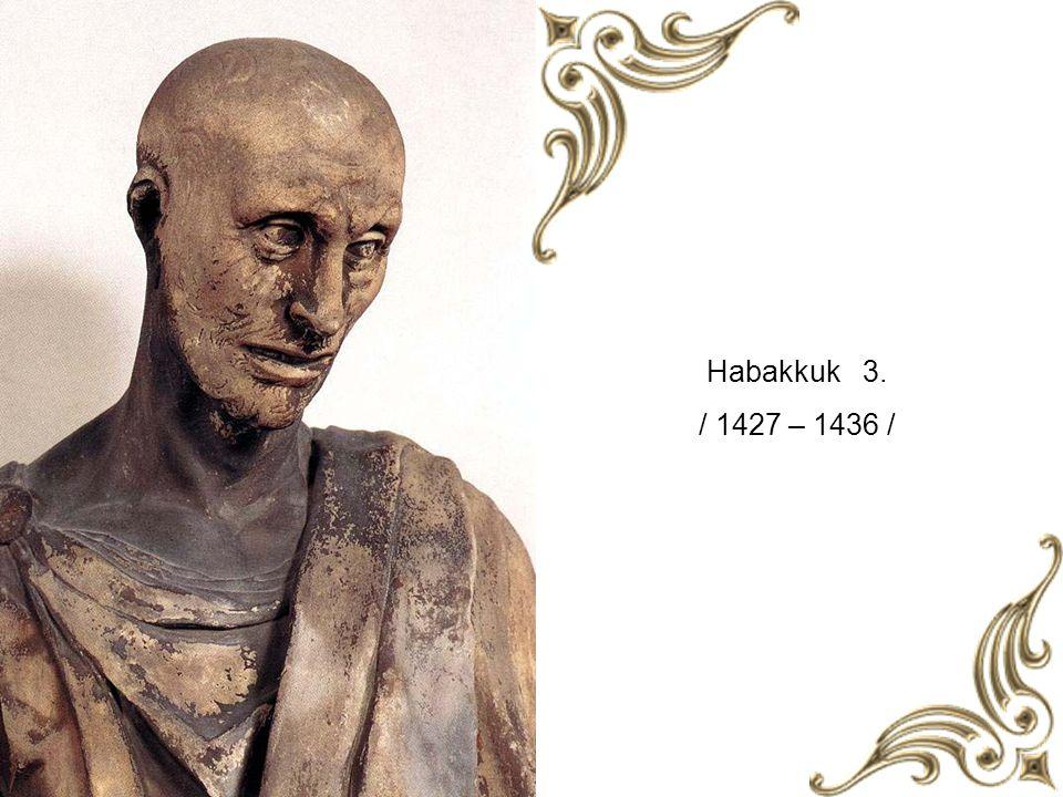 Habakkuk 3. / 1427 – 1436 /