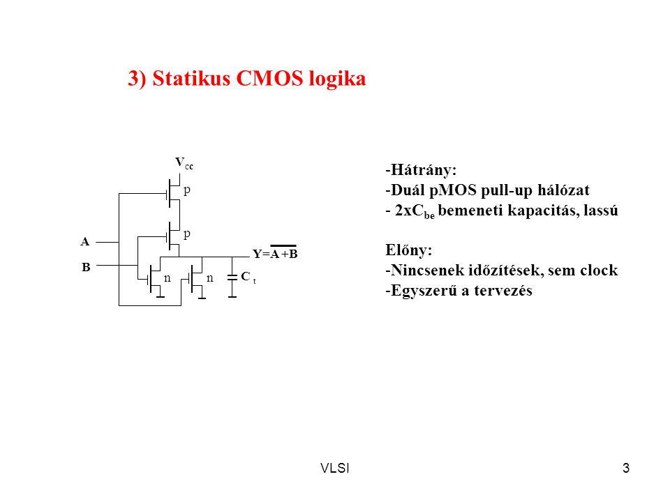 VLSI44 Multi-szenzoros elrendezés Minimum 3 szerves anyag érzékelése Szigeteletlen, lebegő gate S1S1 S2S2 S3S3 D3D3 D2D2 D1D1 Ablak