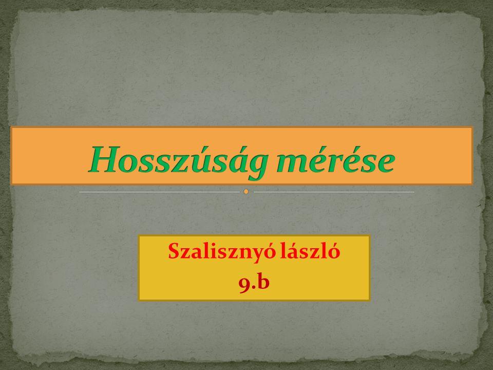 Szalisznyó lászló 9.b