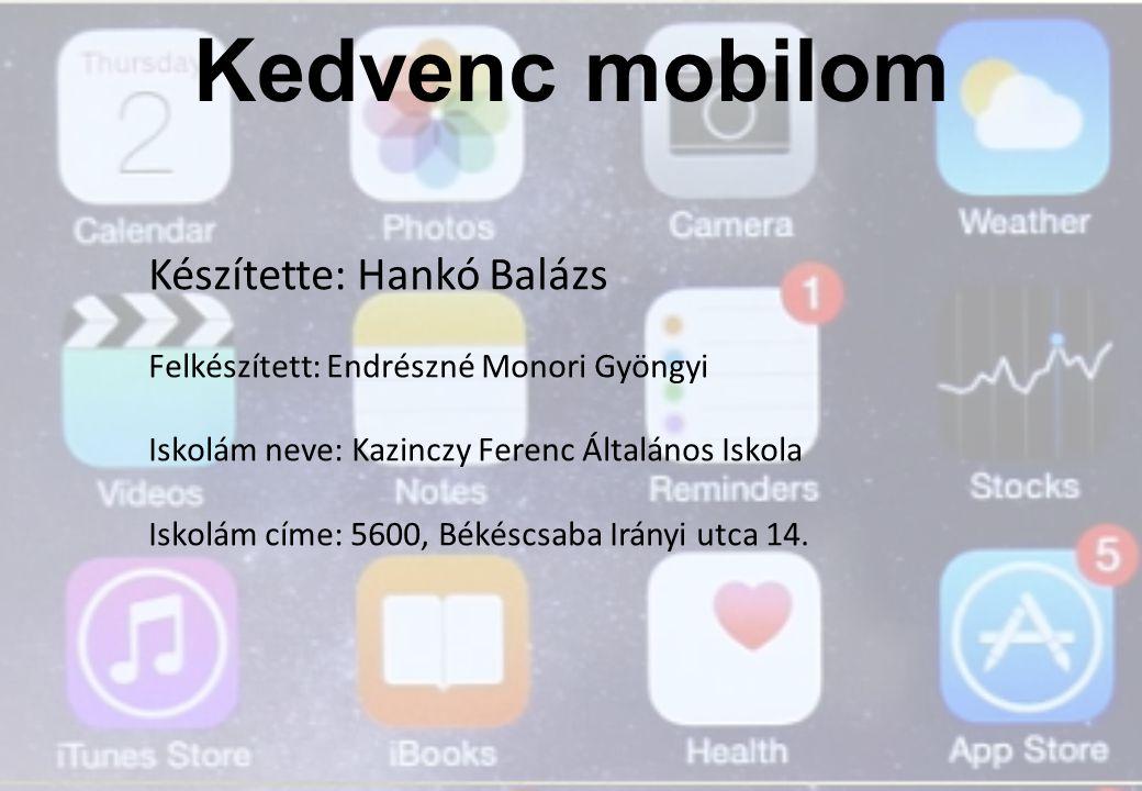 Miről lesz szó: Okostelefon meghatározása Iphone 6 Plus bemutatása Kijelző Processzor Applikációk Kamera Csatlakozók Összehasonlítás egy másik készülékkel PC és a telefon összehasonlítása Kérdések, források 2