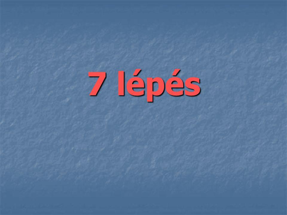 7 lépés