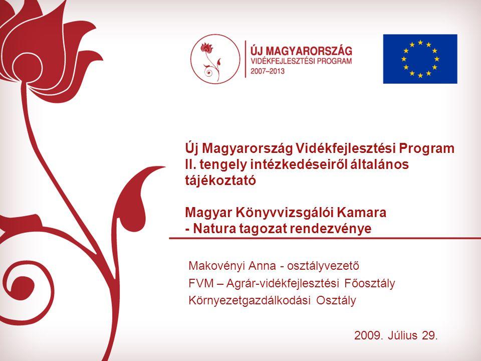 Új Magyarország Vidékfejlesztési Program II.