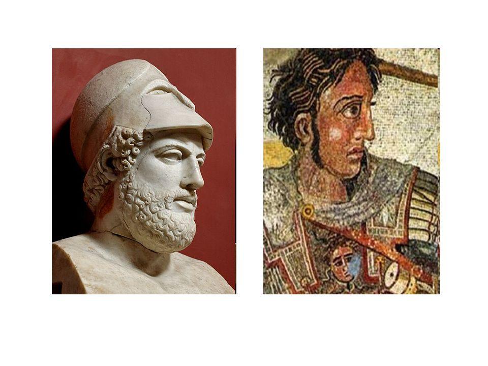 Nagy Sándor meglátogatja Diogenészt......átvágja a gordiuszi csomót