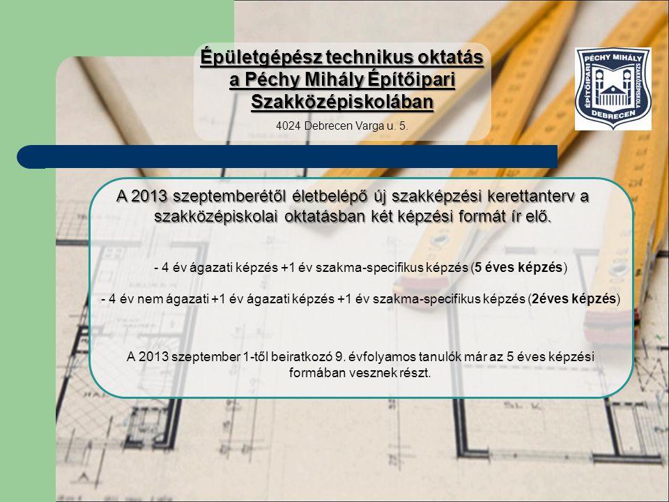 Mit csinál az épületgépész technikus.