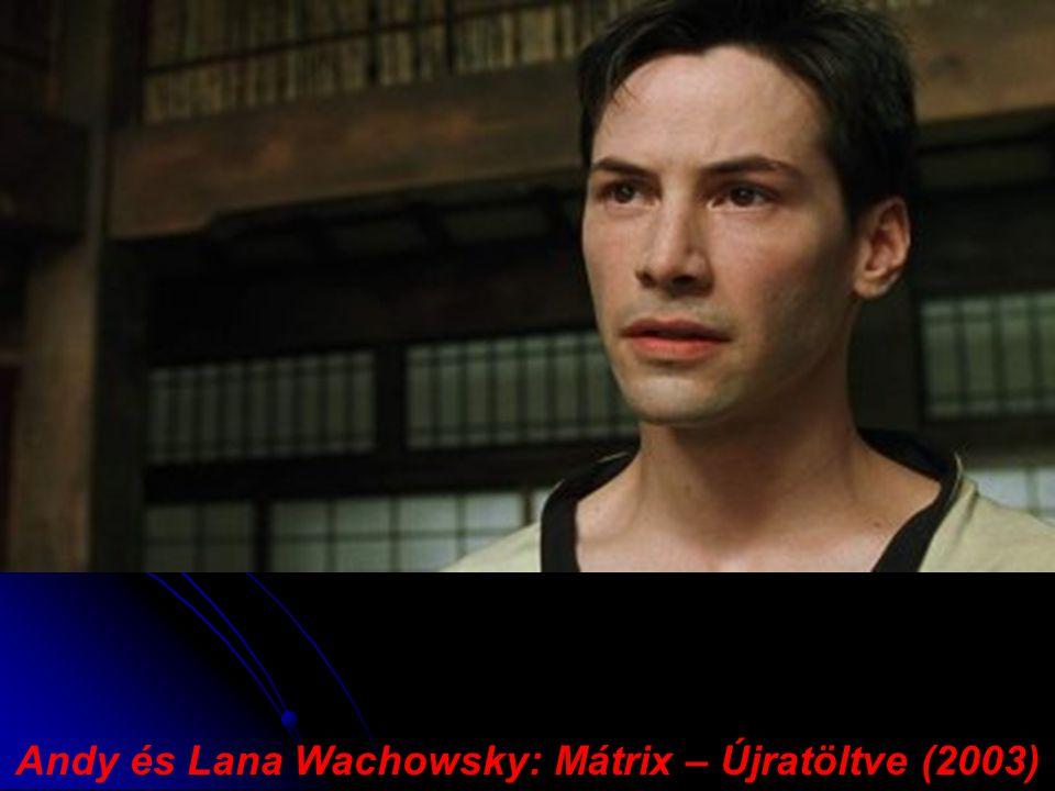 Andy és Lana Wachowsky: Mátrix – Újratöltve (2003)