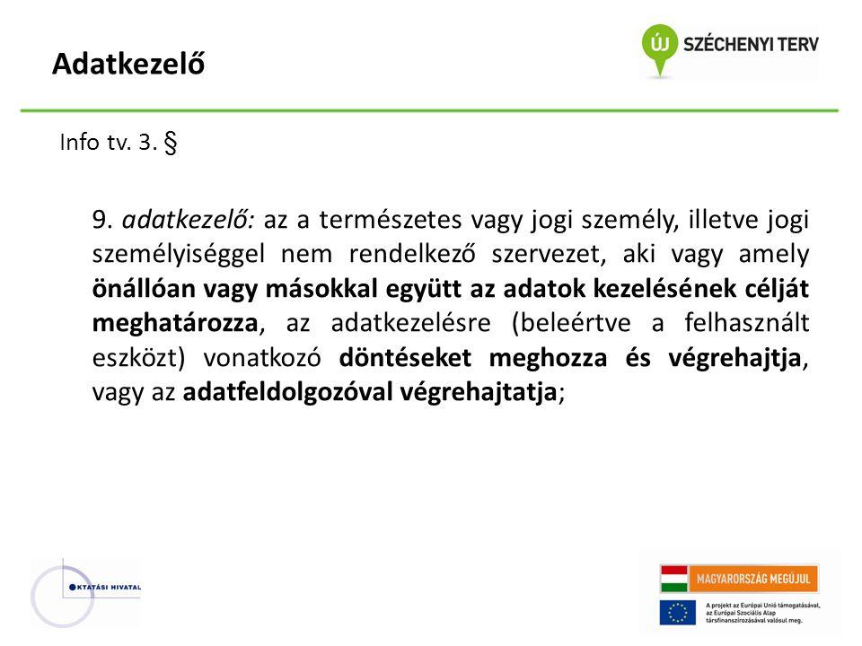 Info tv.3. § 9.