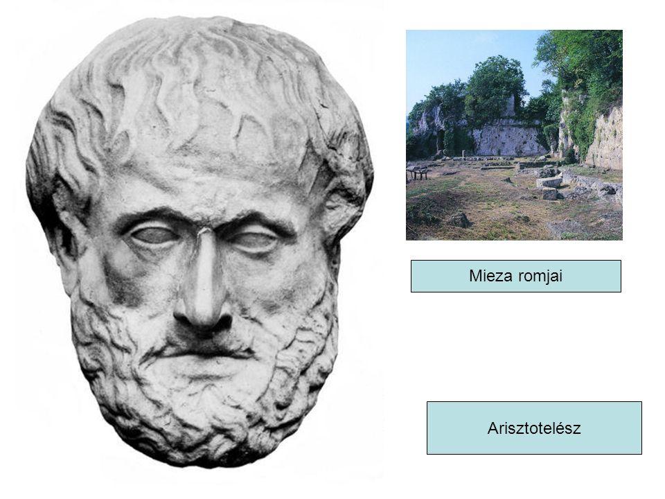 Arisztotelész Mieza romjai