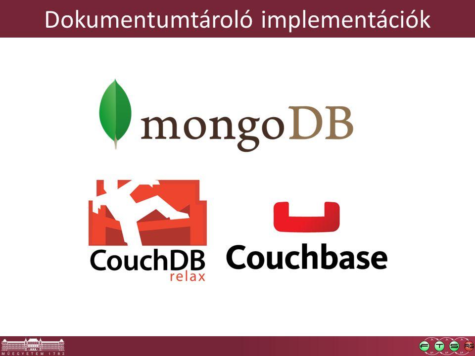 Dokumentumtároló implementációk