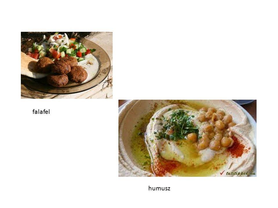 falafel humusz