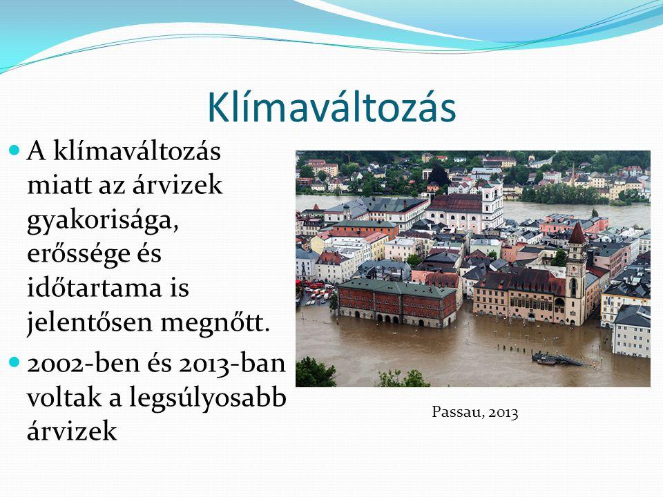 Jelentősebb árvizek 1998-2009 eea.europa.eu