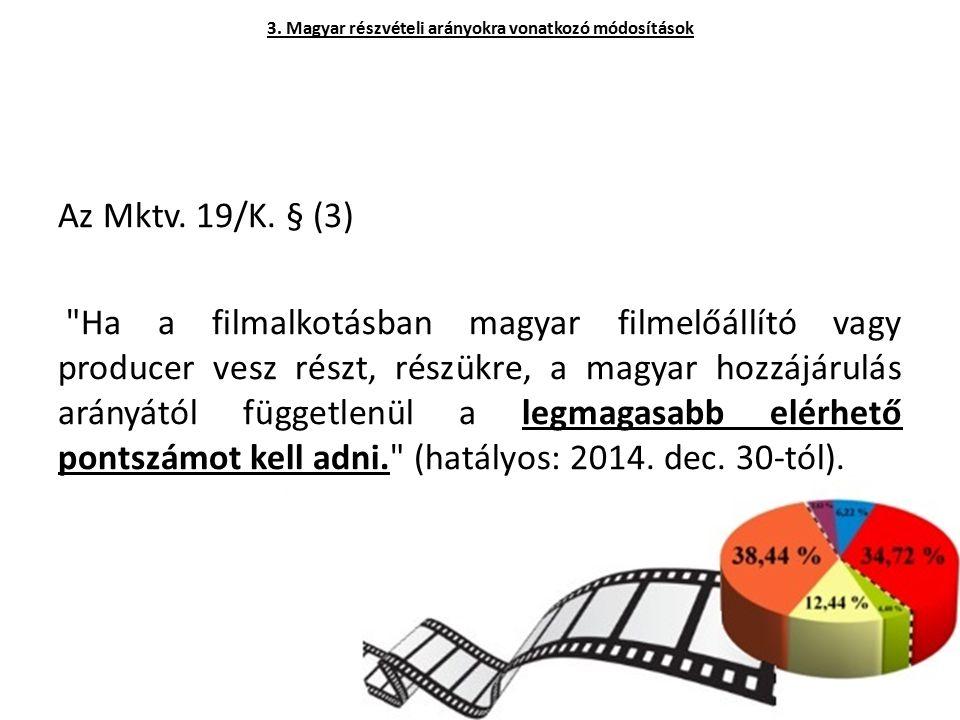 Az Mktv. 19/K. § (3)