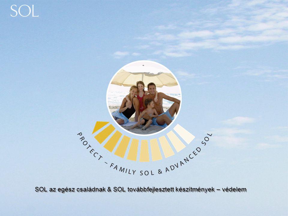 SOL az egész családnak & SOL továbbfejlesztett készítmények – védelem