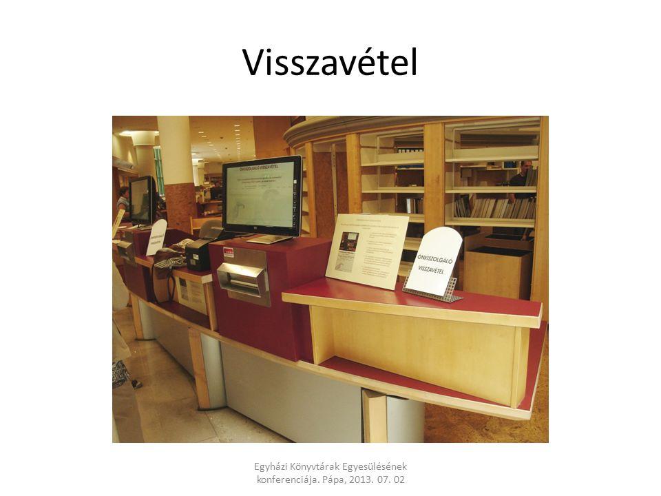 Visszavétel Egyházi Könyvtárak Egyesülésének konferenciája. Pápa, 2013. 07. 02