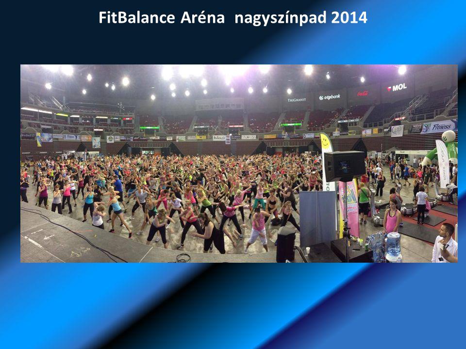 FitBalance Aréna nagyszínpad 2014
