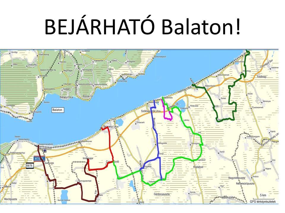 BEJÁRHATÓ Balaton!