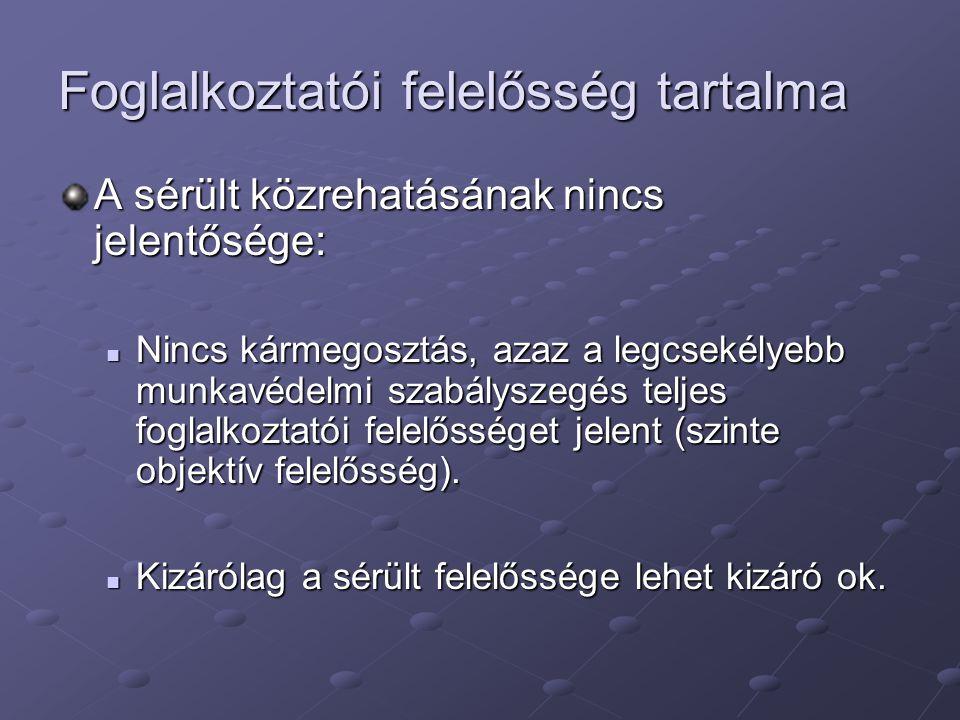 Nyomtatványok Munkabaleseti jegyzőkönyv A munkavédelemről szóló 1993.