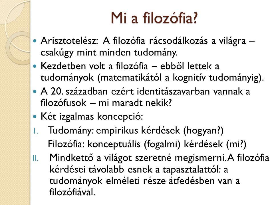 A preszókratikus filozófia A görög filozófia szakaszai: 1.
