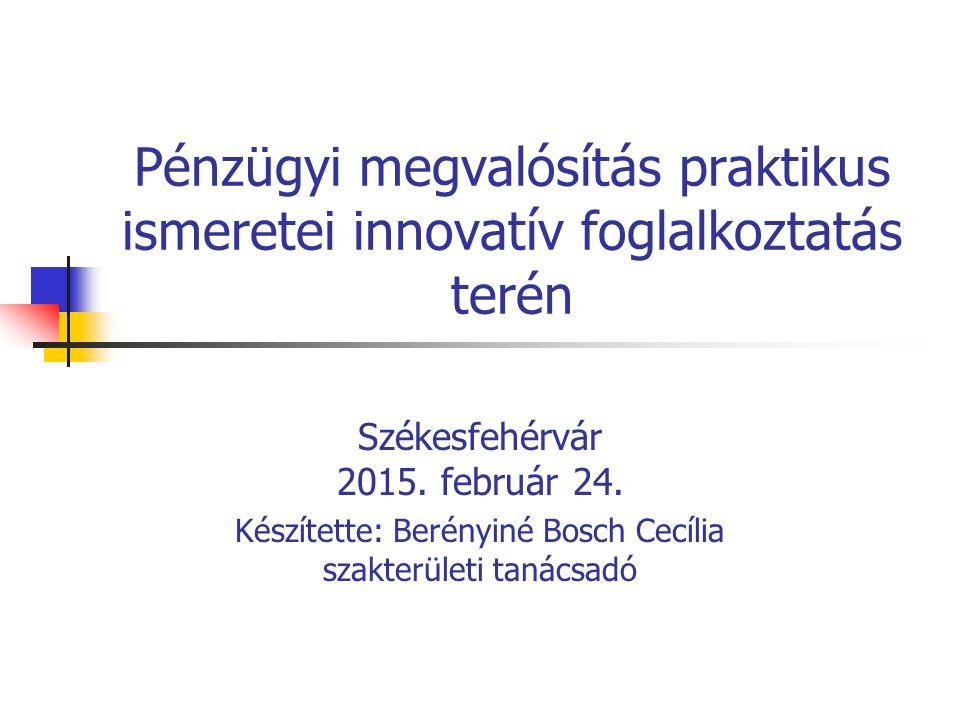 Készítette Berényiné Bosch Cecília2 Szervezeti formák Vállalkozások Civil szervezetek Nonprofit gazdasági társaság