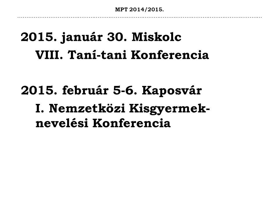 MPT 2014/2015. ……………………………………………………………………………………………………………………… 2015.