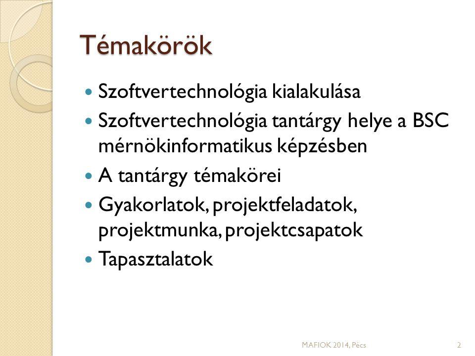 Részlet egy szöveges segédletből MAFIOK 2014, Pécs13