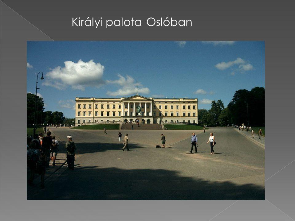 Királyi palota Oslóban