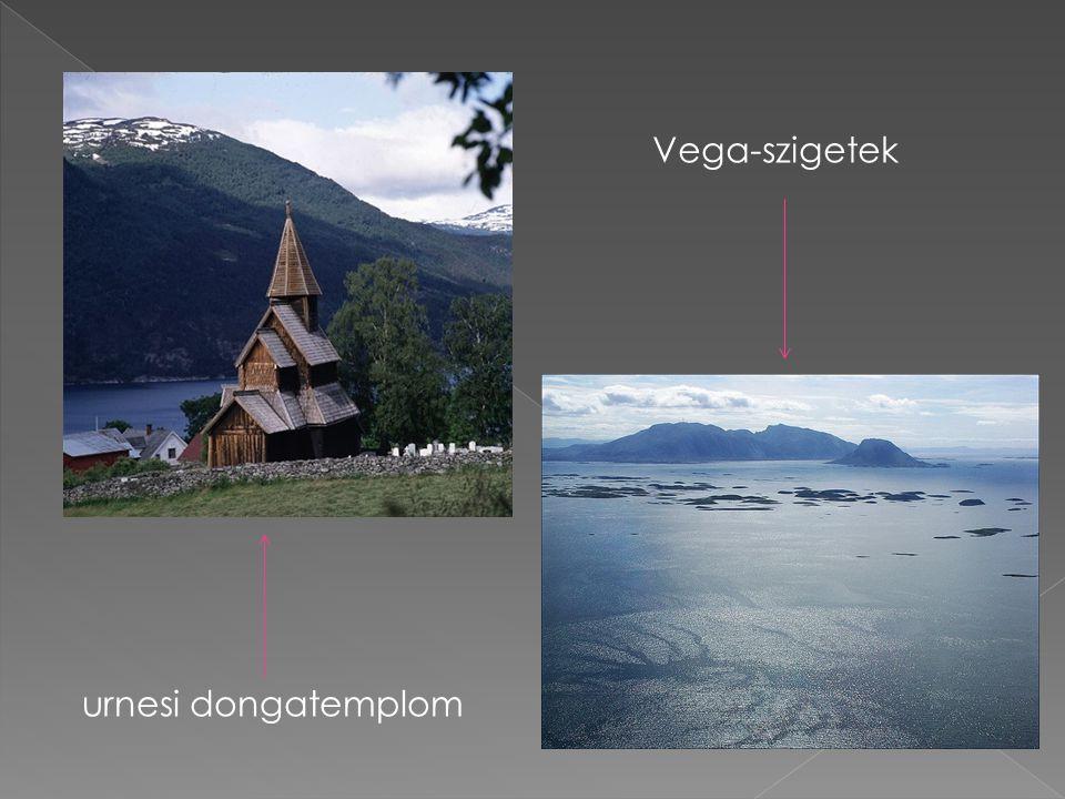 urnesi dongatemplom Vega-szigetek