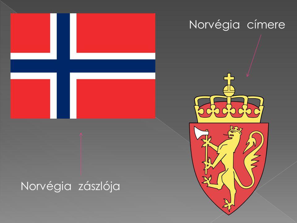 Norvégia zászlója Norvégia címere