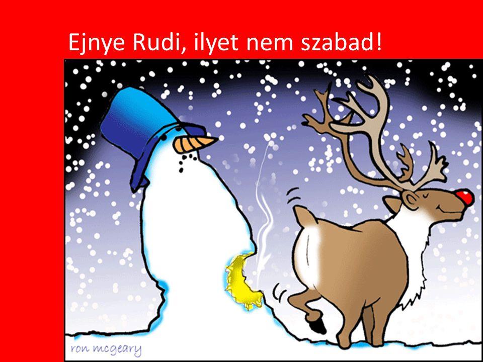 Ejnye Rudi, ilyet nem szabad!