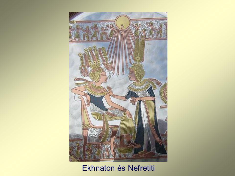 Ekhnaton és Nefretiti