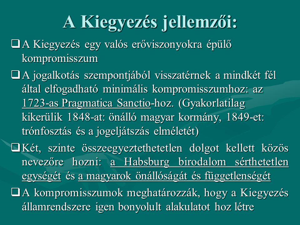 Az Osztr á k-Magyar Monarchia á llamrendszere (1867.