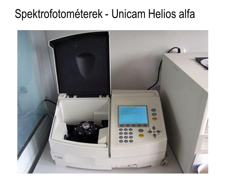 Spektrofotométerek - Unicam Helios alfa