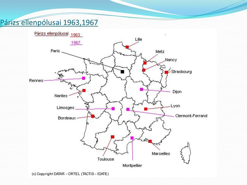 Párizs ellenpólusai 1963,1967