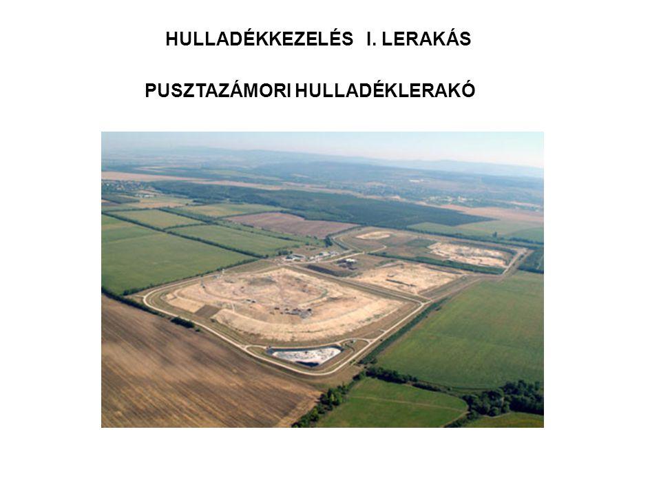 HULLADÉKKEZELÉS I. LERAKÁS PUSZTAZÁMORI HULLADÉKLERAKÓ