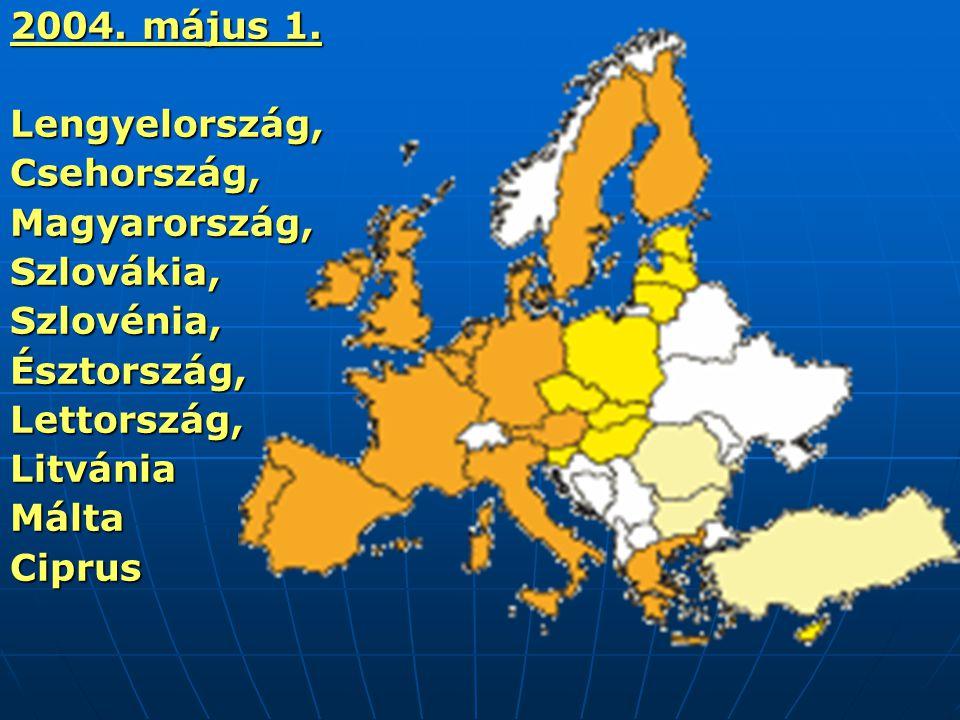 Az euró születése Egységes fizetőeszköz Egységes fizetőeszköz 1995-ben a madridi csúcson kapta a nevét 1995-ben a madridi csúcson kapta a nevét 1998-ban véglegesen rögzítik az euró árfolyamát (1 euró = 1,16 dollár) 1998-ban véglegesen rögzítik az euró árfolyamát (1 euró = 1,16 dollár) 2002.
