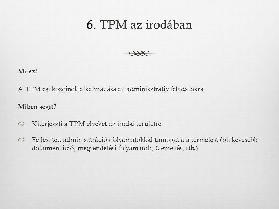6.6. TPM az irodában Mi ez.