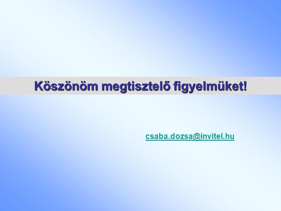 csaba.dozsa@invitel.hu Köszönöm megtisztelő figyelmüket!