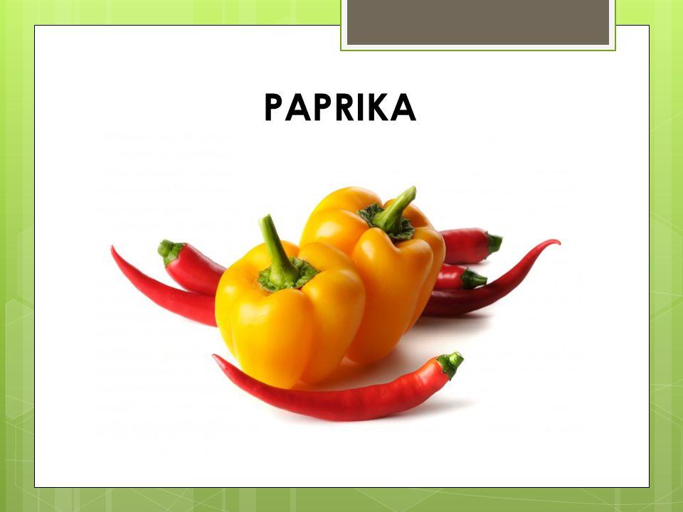 Jellemzőik: - Dél-Amerikából származik - egynyári - Szereti a napfényt, meleget, tápanyag dús talajt, öntözést - Sok C-vitamint tartalmaz.