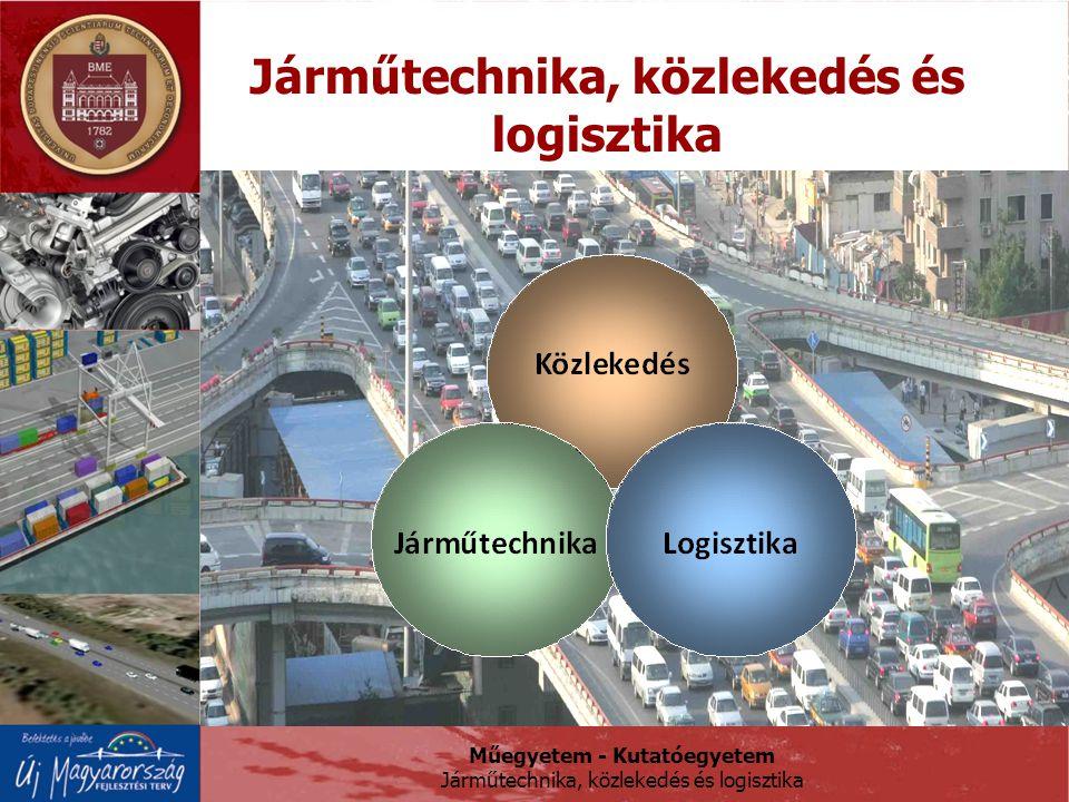 Műegyetem - Kutatóegyetem Járműtechnika, közlekedés és logisztika