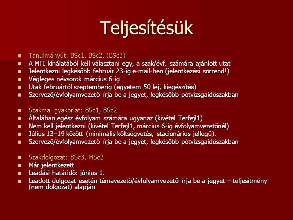 Szakmai gyakorlat 2013.július 13–19. között 2013.
