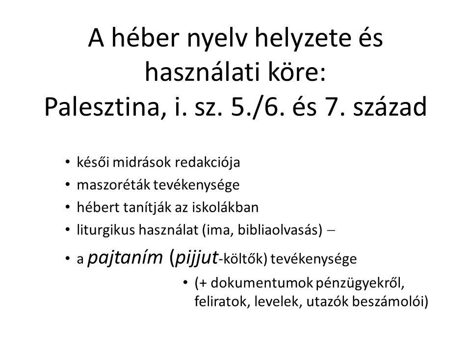 """A spanyol-zsidó aranykor költői További arab versformák: – muvassah (""""övvers , max."""