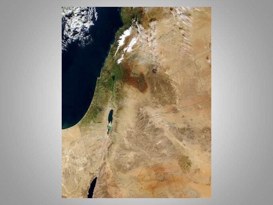 """A """"P ALESZTINAKÉNT ISMERT TERÜLET ELNEVEZÉSEI - Ciszjordánia, Transzjordánia - Kánaán, Kánaán földje - Izrael földje (1Sám 13,19) - keresztények: Szentföld, Ígéret földje - római Judaea elnevezés: Kr."""