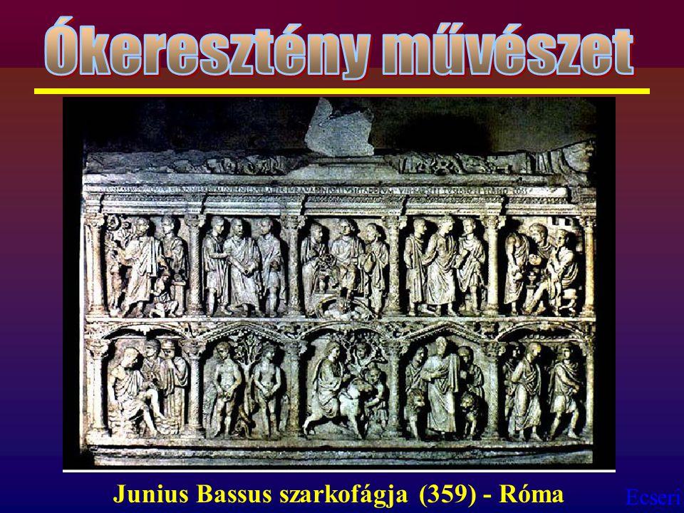 Ecseri Junius Bassus szarkofágja (359) - Róma