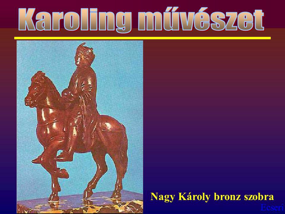 Ecseri Nagy Károly bronz szobra