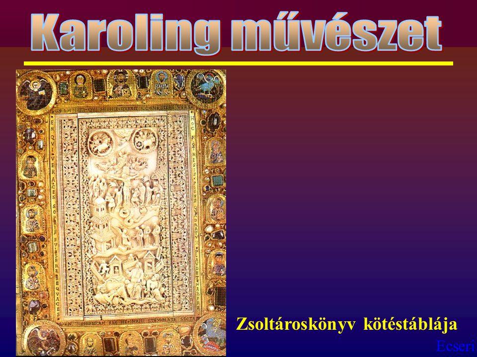 Ecseri Zsoltároskönyv kötéstáblája