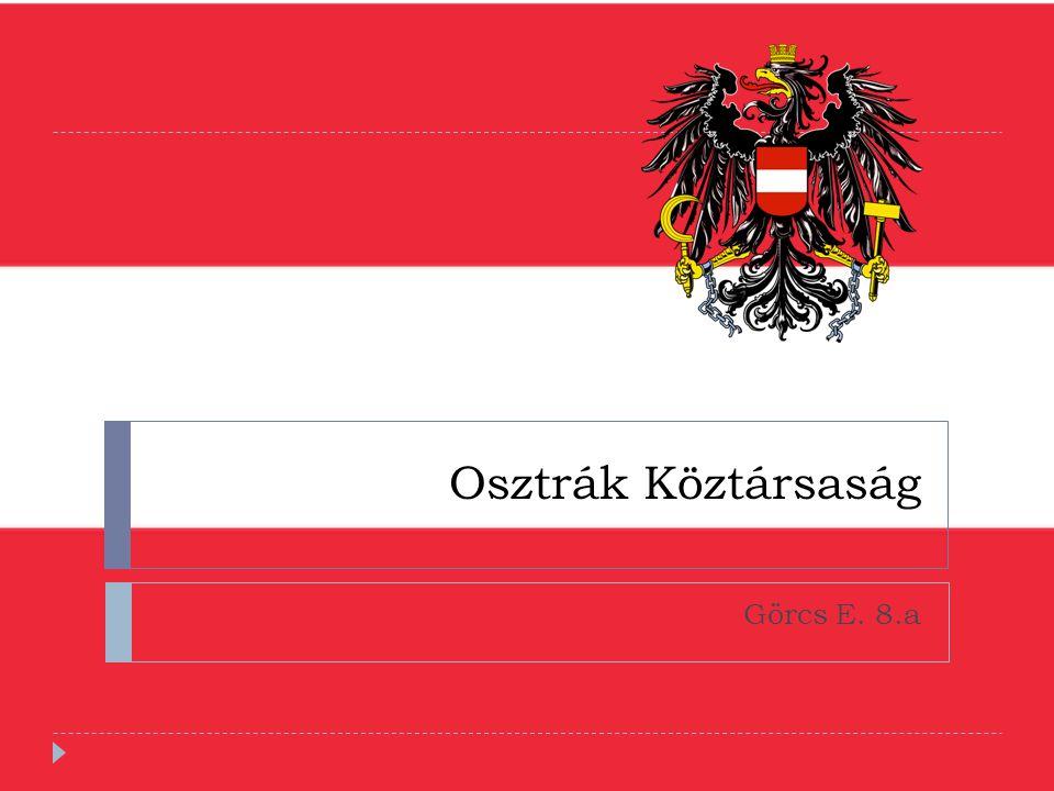 Osztrák Köztársaság Görcs E. 8.a