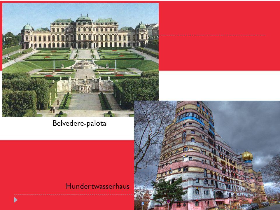 Belvedere-palota Hundertwasserhaus
